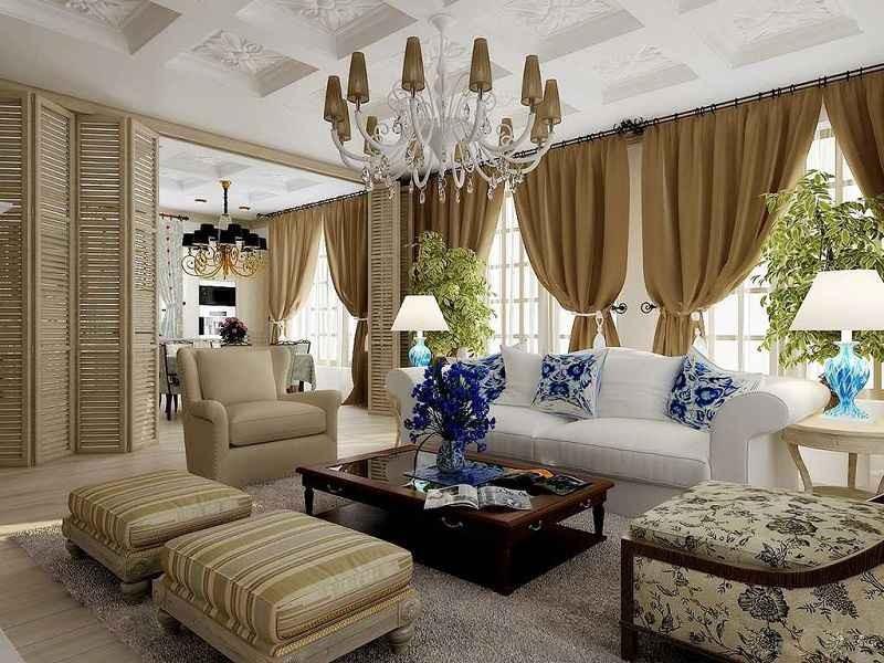 Дизайн квартиры в американский стиль