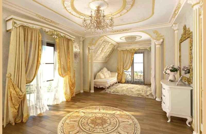 Интерьер квартиры в стиле классицизма