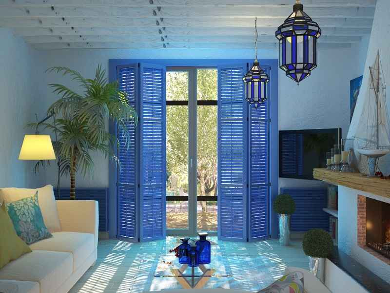 Дизайн квартир в средиземноморском стиле