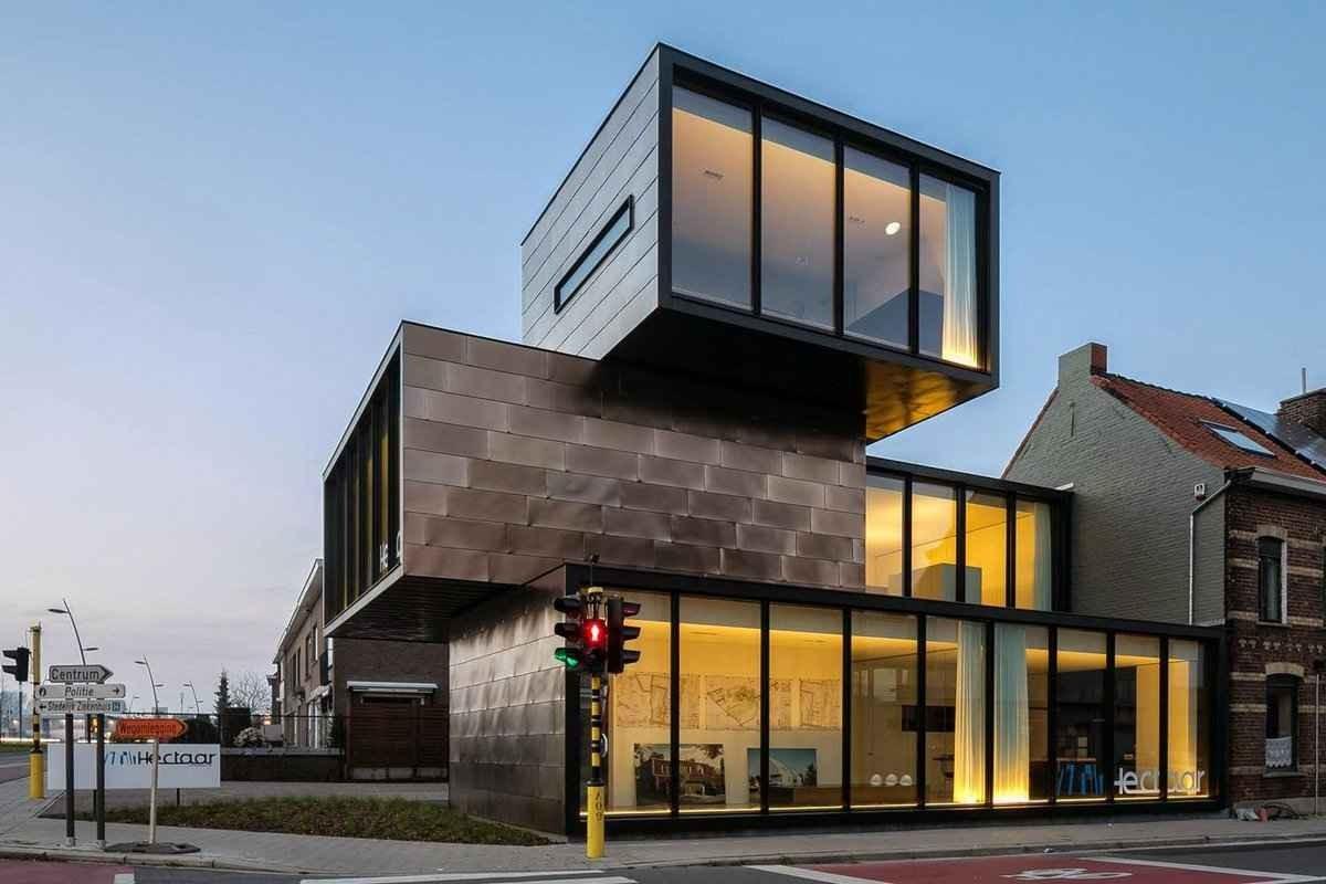 Дизайн фасада офиса
