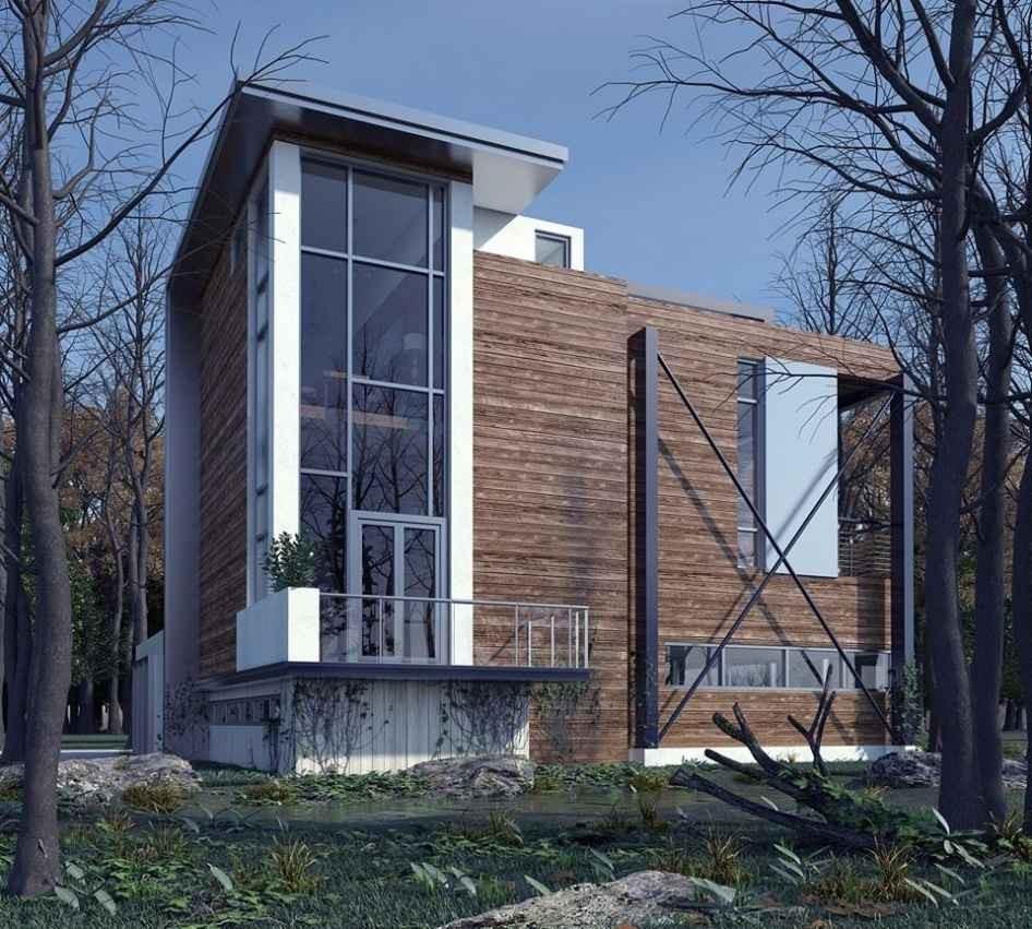 дизайн загородного дома в подмосковье