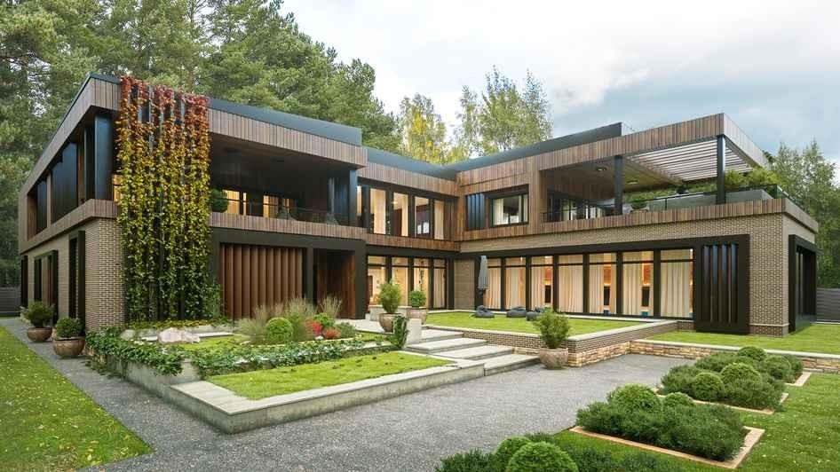 Строительство дома дизайн-проекту в Подмосковье