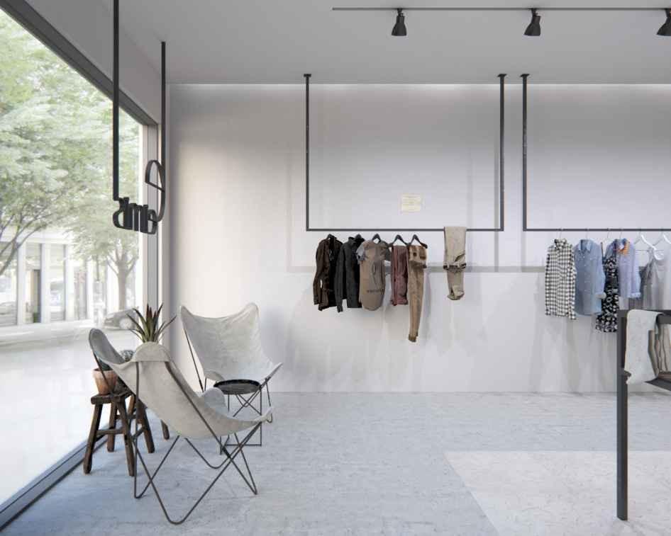 дизайн магазина одежды в Москве