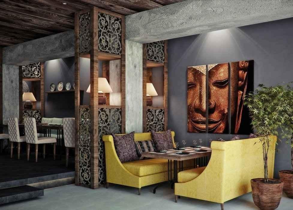 Заказать дизайн интерьера в этническом стиле
